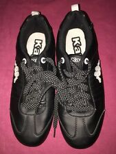 Kappa Boys Youths Maedel Black/White Trainers UK 5 EUR 38 WORN ONCE