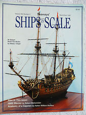 Seaways' SHIPS in SCALE March/April 1997  De Spiegel-Sidney Siegel, HMS Warrior