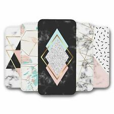 For Samsung Galaxy S8 Flip Case Cover Geometric Collection 4