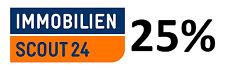 ImmobilienScout24 Gutschein - 25% Rabatt für Anzeigen (Versand per Mail)