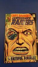 MARVEL COMICS CAPTAIN SAVAGE AND HIS LEATHERNECK RAIDERS 4 STAN LEE AYERS 1968