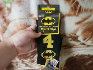 BEST PRICE! Imported From USA! Single Crew Athletic Batman Socks #1