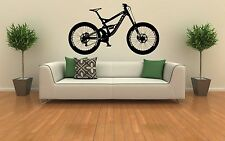GT Fury Downhill Mtb Mountain Bike sentieri Muro ARTE Adesivo decalcomania in vinile rimovibili