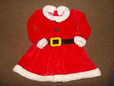 Baby Girl Christmas Santa dress 12-18 months very good condition