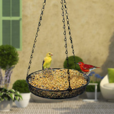 Garden Bird Feeder With Hanging Tray- Us Supplier