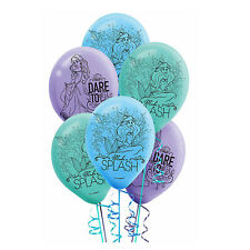 Little Mermaid Disney ARIEL Latex Balloon Birthday Party Supplies Decoration 6ct