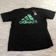 NEW Men's ADIDAS Dash Digi Camo Black Green T-Shirt XL NWT