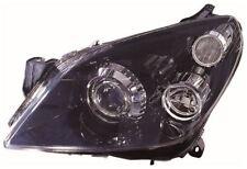 Vauxhall Astra H Mk5 VXR 2004-2010 Black Xenon Headlight N/S Passenger Left