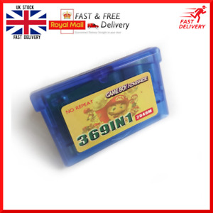 369 In 1 Cartridge Card Multi game Multi cart for Game Boy Advance GBA/SP/GBM