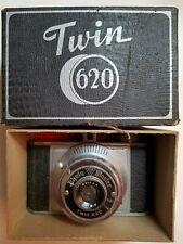 Rolls Twin 620 Vintage Camera w. Photo Master Rollax Lens - In Box Ex+