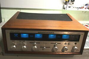 Marantz 2440 Adaptor Quadradial 4 AMP with original WC-10 Wood Case!
