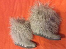 Ugg Sheep Grey Boots, Size 7
