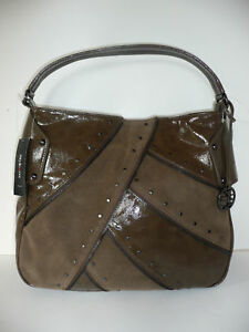 Hobo Tote Handbag Purse- Brown/Taupe-  Style & Company-New with Tags