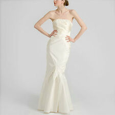 NICOLE MILLER SILK FLORAL EMBROIDERY WEDDING BRIDAL GOWN DRESS 10 $3080 OA0005