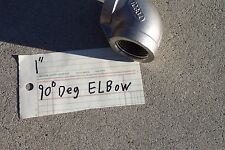 "90 DEGREE ELBOW 1"" STAINLESS STEEL-  150# npt"