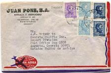 FFC 1975 Juan Pons S.A. Barraca Aserradero Vilardebo Montevideo Uruguay Augusta