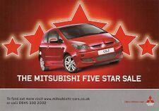 Mitsubishi Special Offers Jly-Sep 2007 UK Brochure i Colt Lancer Grandis L200