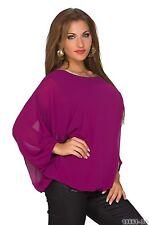 Taillenlang Damenblusen,-Tops & -Shirts mit Flügelärmel-Ärmelart ohne Mehrstückpackung