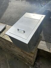 More details for fully insulated stainless steel drop in ice well, with drain & stainless plate