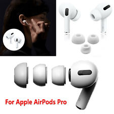 For Apple AirPods Pro 3 Earphones Replace Silicone Plastic Ear Tips Buds 6PCS