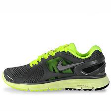 Nike Lunareclipse+ 2 Womens 487974-002 Grey Volt Running Training Shoes Size 6