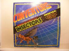 Transformers robot CONVERTORS ORIGINAL Empty Card Blister INSECTORS MORPHUS