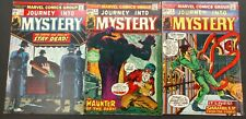 Journey Into Mystery 1973 #3,#4 #11 New Horror Stories+ Atlas Reprints,Lovecraft