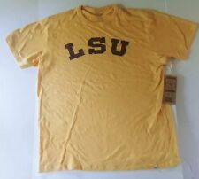 half off d3611 62bff LSU Tigers 47 Brand Mens Scrum T-Shirt NWT Yellow Size XL