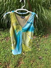 EVAN PICONE SLEEVELESS BLOUSE TOP SHELL SIZE 14