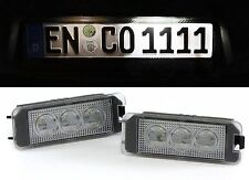 LED HIGH POWER WHITE 6000K license plate lights FOR VW Amarok from year 2010