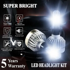H3 COB LED Headlight Bulbs Conversion Kit 1000W 221000LM 6000K White Fog Light