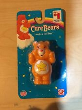 CARE BEAR 2005 Orange LAUGH LOT 2-1-2 PVC Toy Collectible Cake Topper Mini Baby