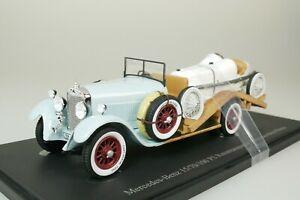 Mercedes 15/70/100 Ps Camion da Corsa + Monza Grigio 1934 1/43 AutoCult 11014