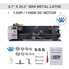 Mini Metal Lathe 87 295 Bench Top 15hp Digital Readout Metal Gear 5 Tools