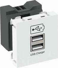 OBO Bettermann USB Ladegerät MTG-2UC2.1 RW1 IP20 weiß Kommunikationstechnik USB