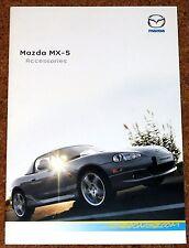 2004 MAZDA mx5 accessori BROCHURE DI VENDITA-Cerchi in lega, corpo Styling, Hard Top