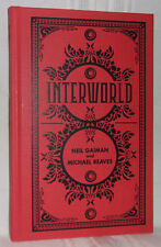 Neil Gaiman Michael Reaves INTERWORLD Deluxe Limited SIGNED by Both Teen Fantasy