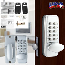 Mechanical Smart Door Lock Keyless Digital Security Code Password Entry Lock Set