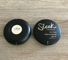 SLEEK MAKE UP OIL FREE CREME TO POWDER FOUNDATION SPF15 9g - ASSORTED SHADES *