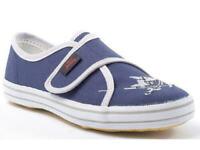 Capt´n Sharky Leinenschuhe Kinder Hausschuhe blau 21-38 140006-5 Neu20