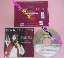 CD MARILLON childhood rehearsals live hammersmith PAPER CORN PC 010 1993 (Xs10)