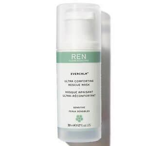 REN Clean Skincare Evercalm Ultra Comforting Rescue Mask 1.7 oz NWB