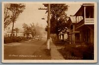 Postcard RPPC c1948 St Paul d'Abbotsford Quebec Street View Photo L. Charpentier