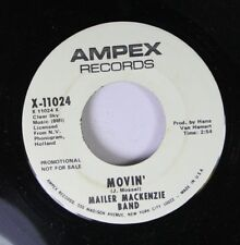 Rock Promo Nm! 45 Mailer Mackenzie Band - Movin' / Let Tomorrow Be A Different D