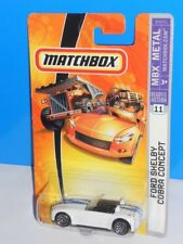 Matchbox 2007 MBX Metal #11 Ford Shelby Cobra Concept White