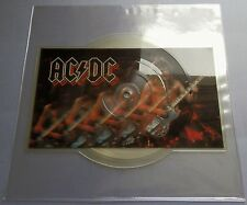 "AC/DC - Nervous Shakedown UK 1984 Atlantic 7"" Shaped Picture Disc"