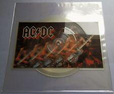 "AC/DC - Nervous Shakedown UK 1984 Atlantic 7"" Shaped Picture Disc"