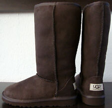 UGG Australia CLASSIC TALL Kinderboots Stiefel Mädchen Boot Chocolate Gr.32 NEU