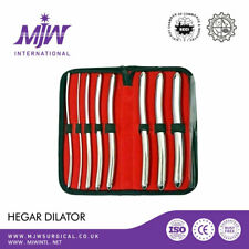 Hegar Dilator Urethral Uterine Sounds Surgical Medical Gyne Instruments Set CE
