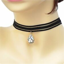 Crystal Pear Costume Chokers